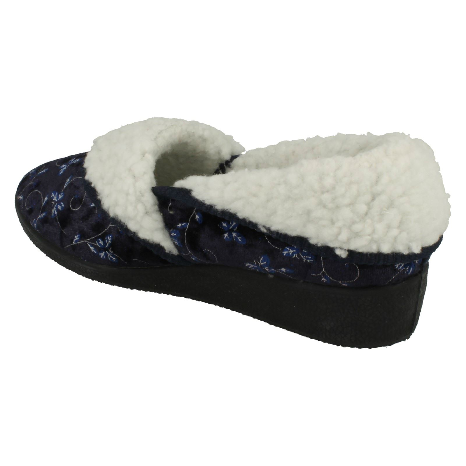 Ladies-Four-Seasons-House-Slippers-Edith thumbnail 17