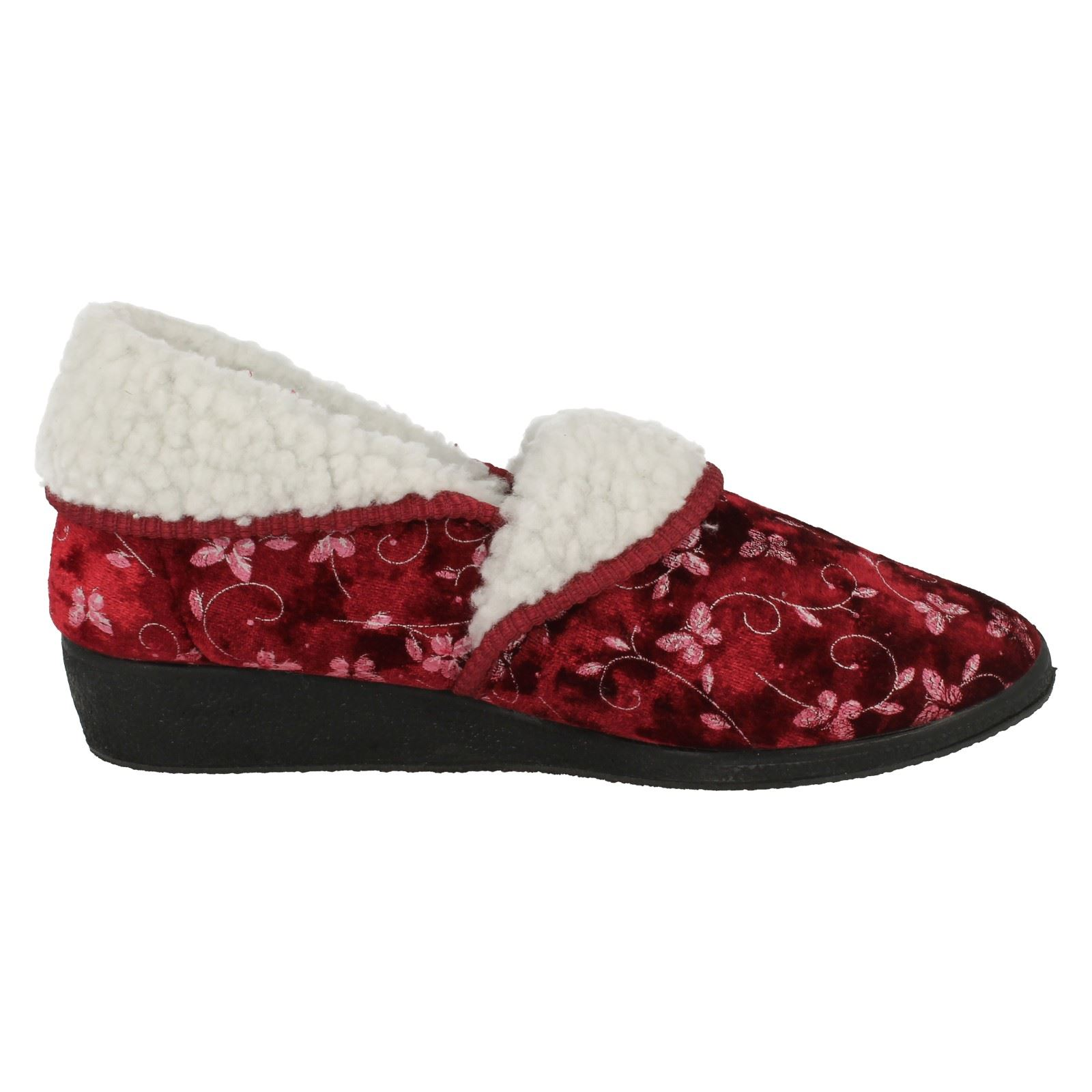 Ladies-Four-Seasons-House-Slippers-Edith thumbnail 5