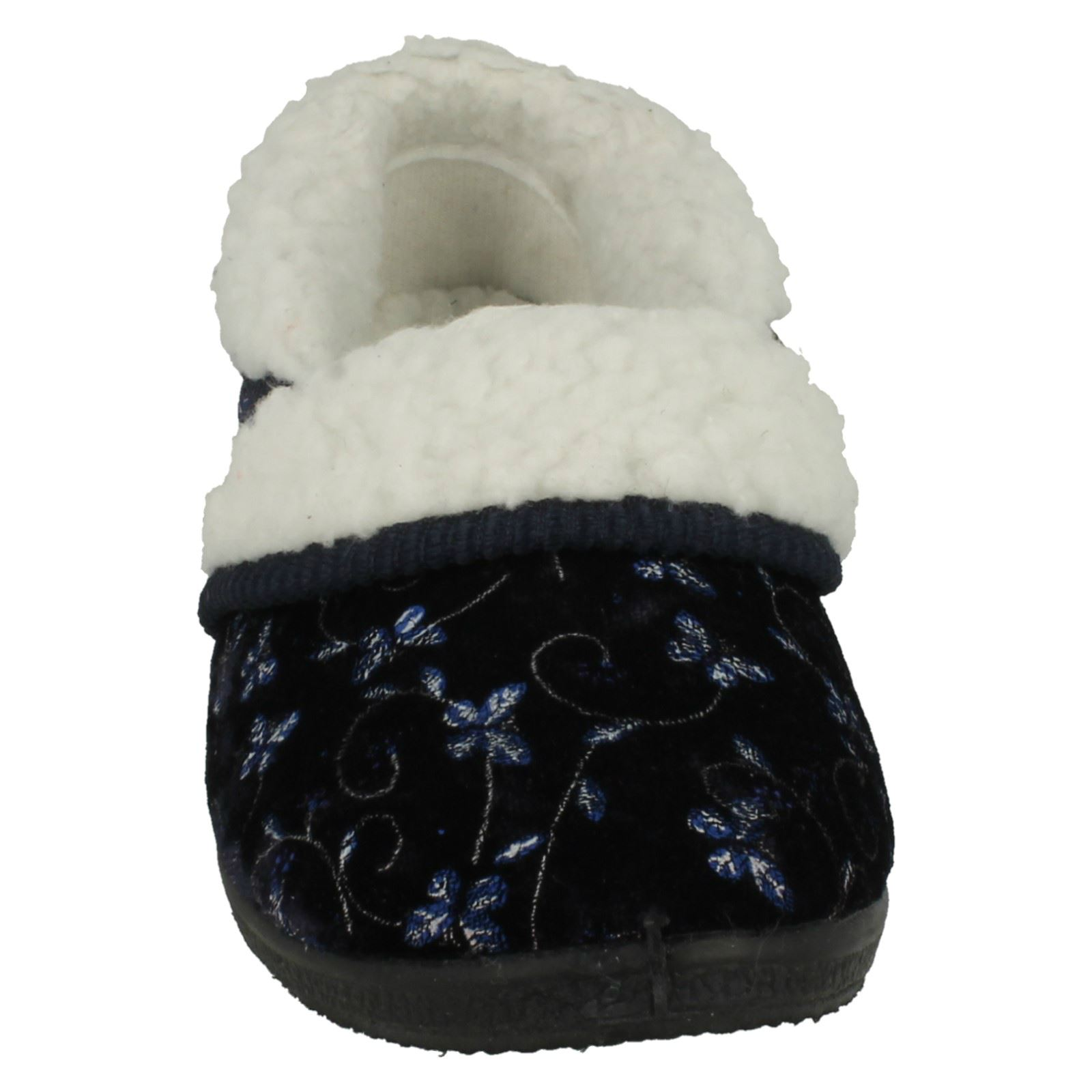 Ladies-Four-Seasons-House-Slippers-Edith thumbnail 18