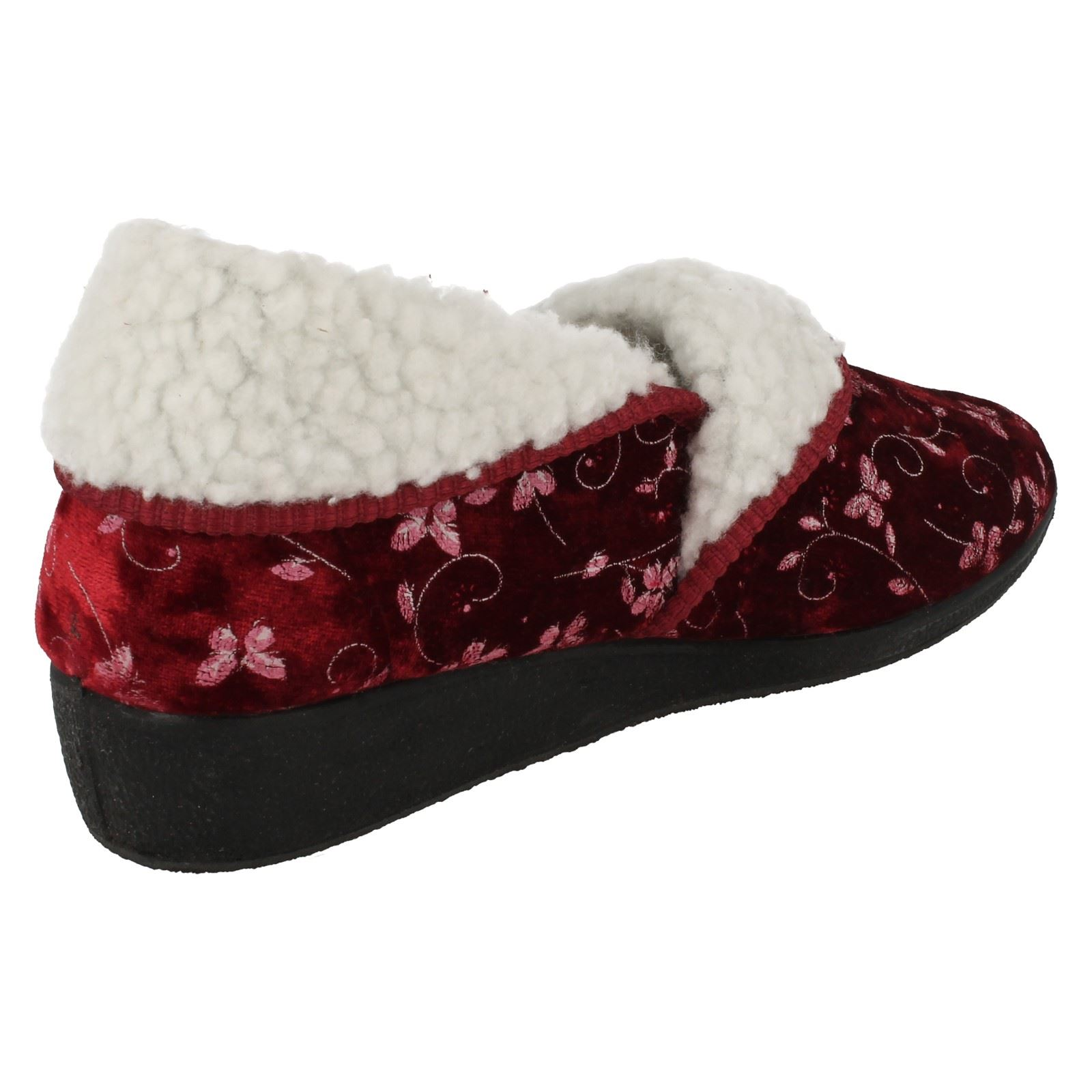 Ladies-Four-Seasons-House-Slippers-Edith thumbnail 7