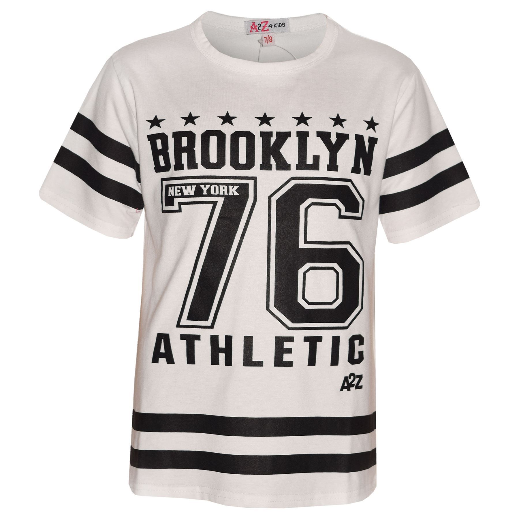3174d6aff2 Girls Top Kids Designer's Brooklyn 76 Athletic T Shirt Top & Legging ...