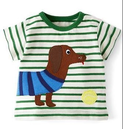 Mini boden jungen baby baumwolle applikation top t shirt for Mini boden schuhe