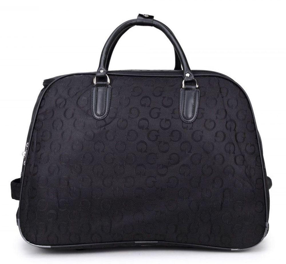 herren damen koffer reisetasche g designer stil druck mit rollen kabinentasche ebay. Black Bedroom Furniture Sets. Home Design Ideas