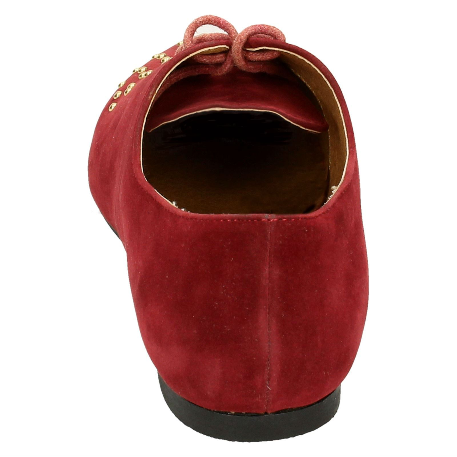 Spot-On-Ladies-Lace-Up-Shoes-with-Pointed-Toe thumbnail 14