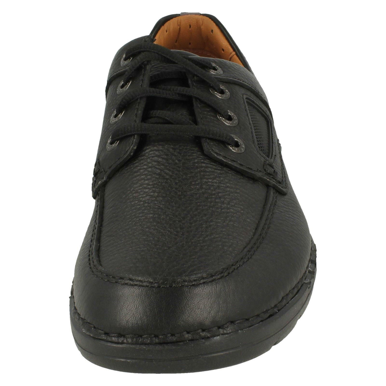 Clarks Herren Freizeit geschnürt Sportlich Schuhe - - - unnature Time 0326e2
