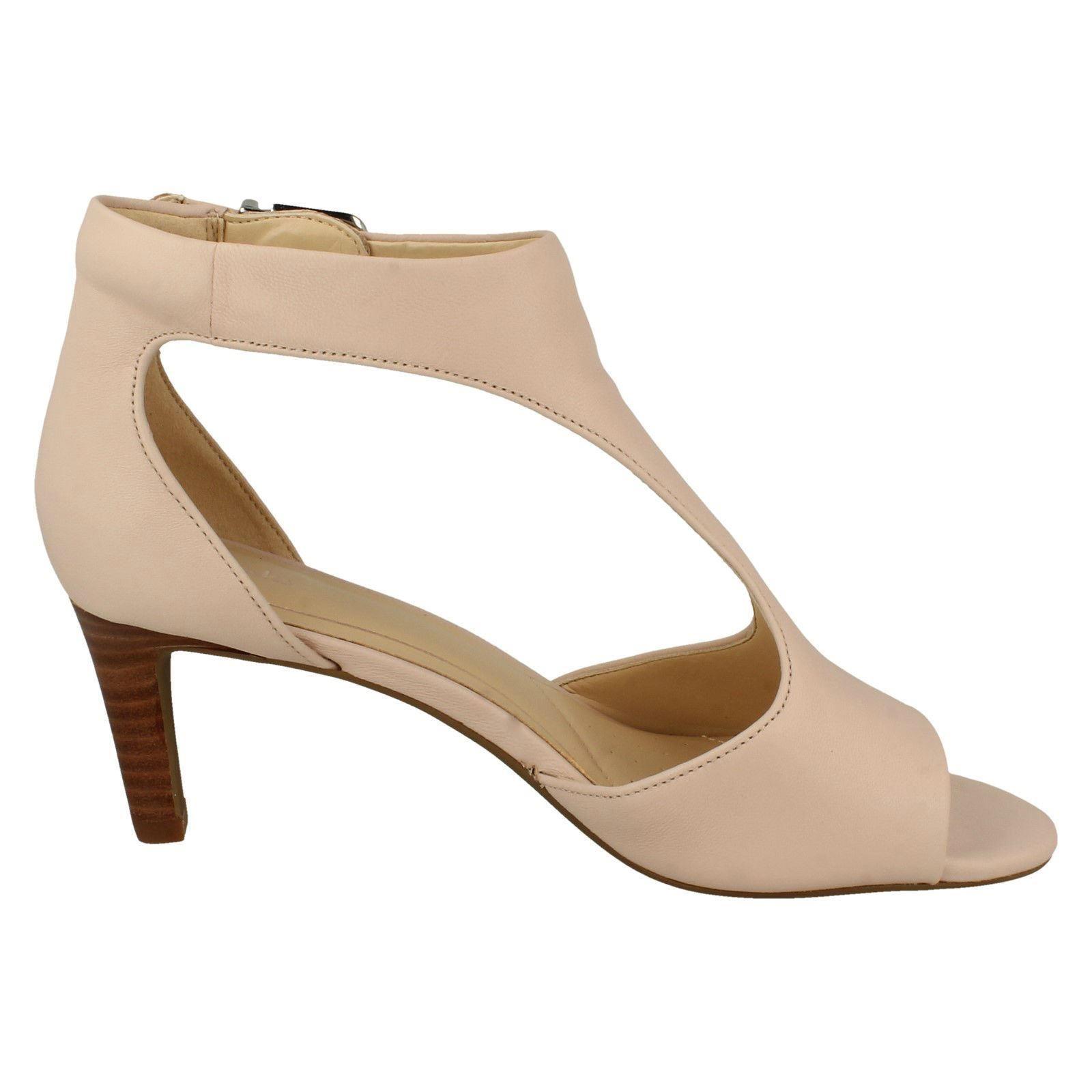 453a71bb0141 Ladies-Clarks-Peep-Toe-Heeled-Sandals-Laureti-Star thumbnail