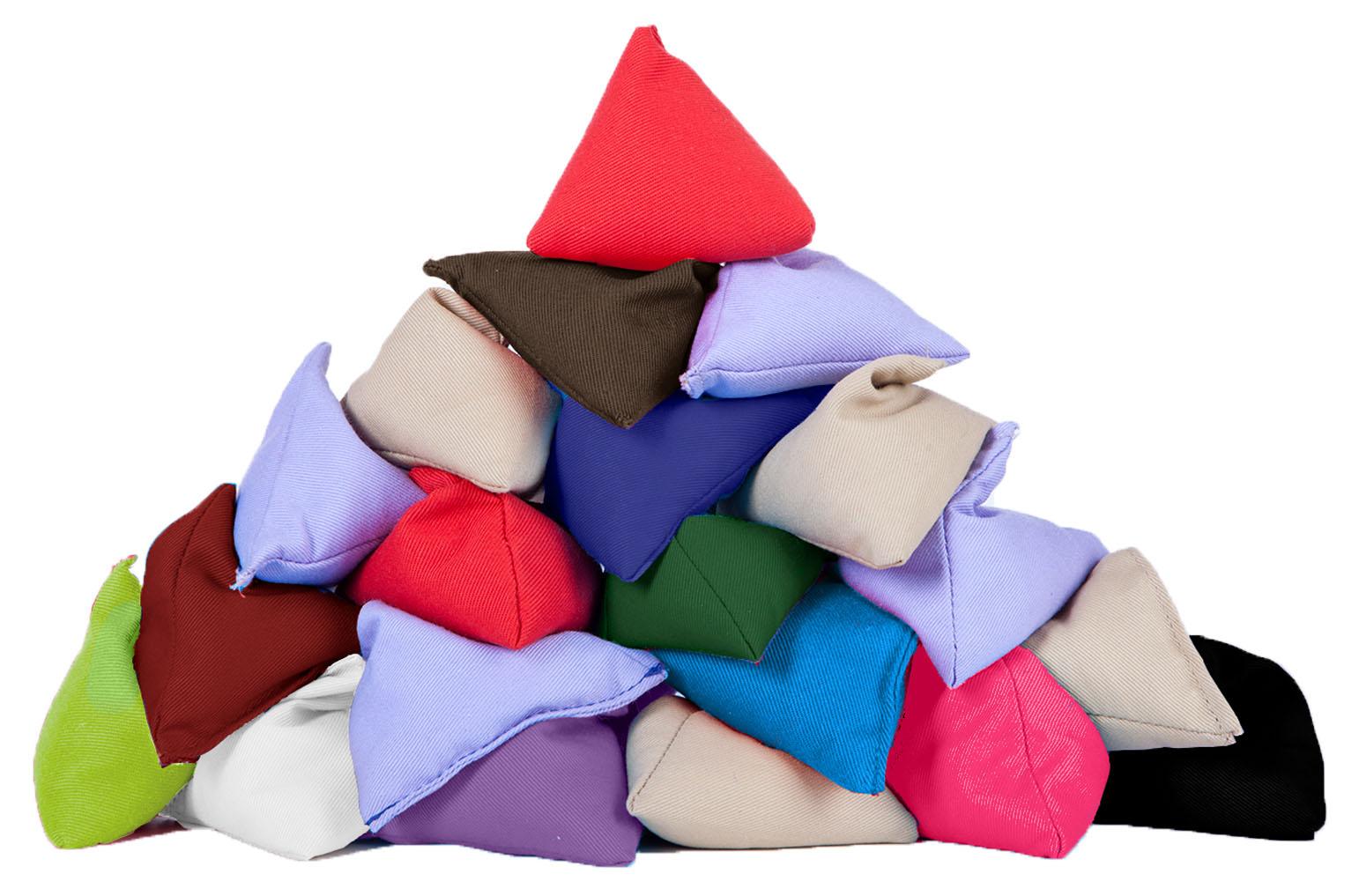 Multipacks Juggling Pyramid Bean Bags Practice Throwing Catching Triangular  PE - Multipacks Juggling Pyramid Bean Bags Practice Throwing Catching