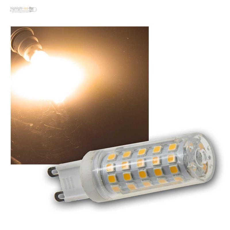 g9 mini led siftsockellampe ampoule lampe g 9 230v ampoule douille broches ebay. Black Bedroom Furniture Sets. Home Design Ideas