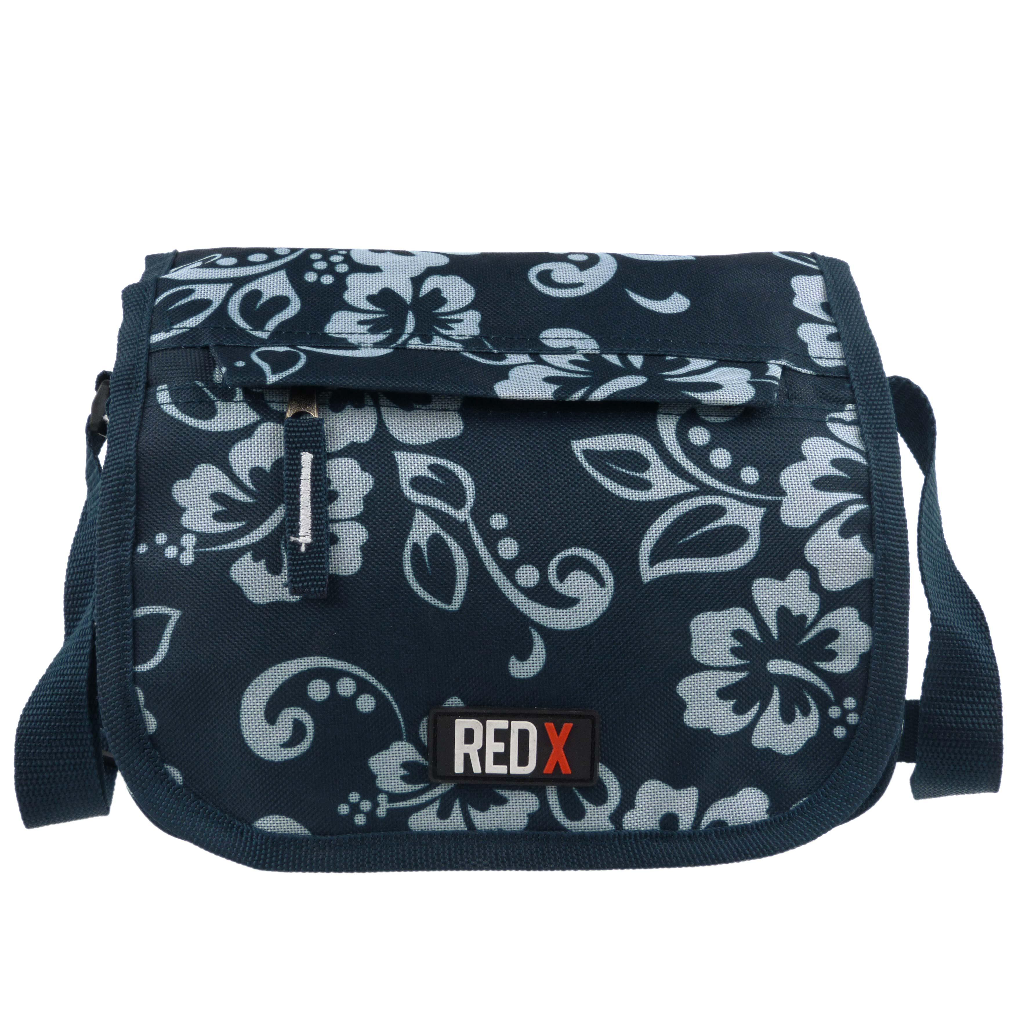 Ladies-Girls-Medium-Hibiscus-Shoulder-Travel-Cross-Body-Bag-by-RED-X-Floral thumbnail 3