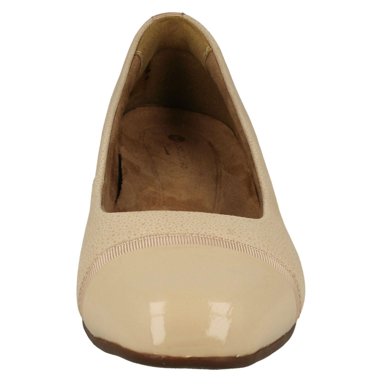 Damen-Clarks-Slipper-Leder-Ballerina-Stil-Flache-Keesha-Rosa Indexbild 45
