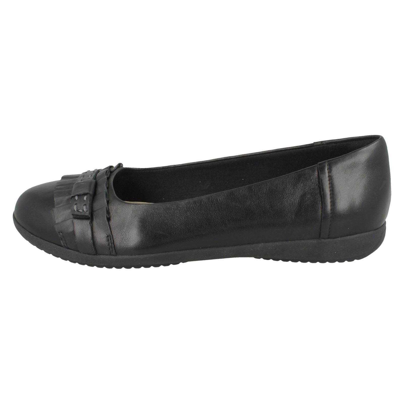 Feya Smart Clarks da pattinaggio On Island in da Slip pelle Scarpe donna wOfqv1