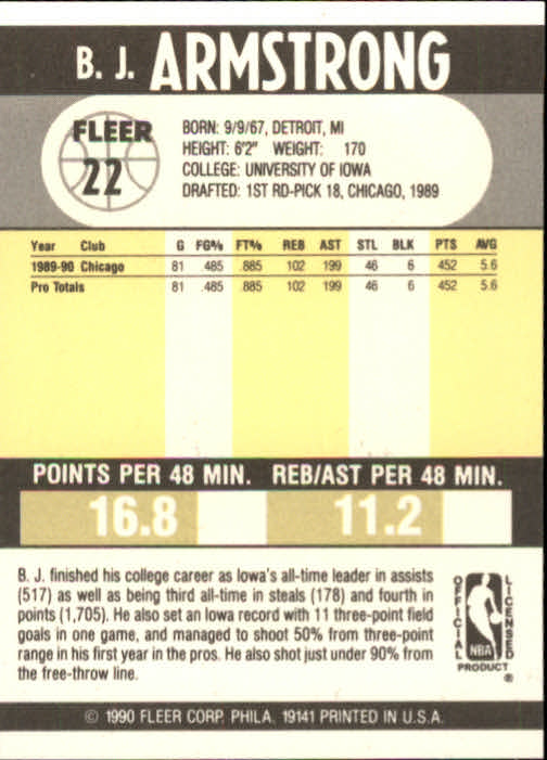 1990-91-Fleer-Basketball-Card-Pick thumbnail 43