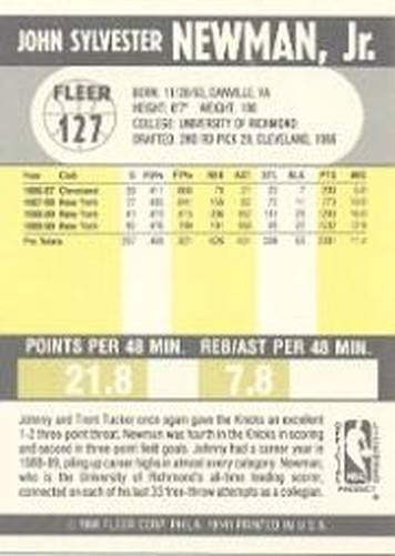 1990-91-Fleer-Basketball-Card-Pick thumbnail 259
