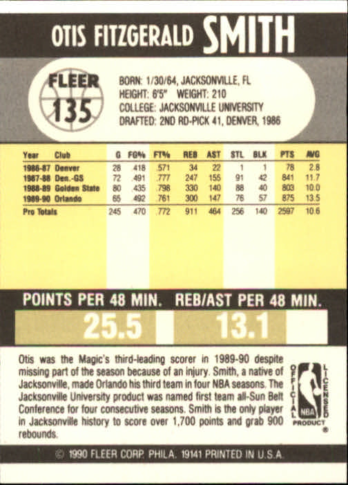 1990-91-Fleer-Basketball-Card-Pick thumbnail 275