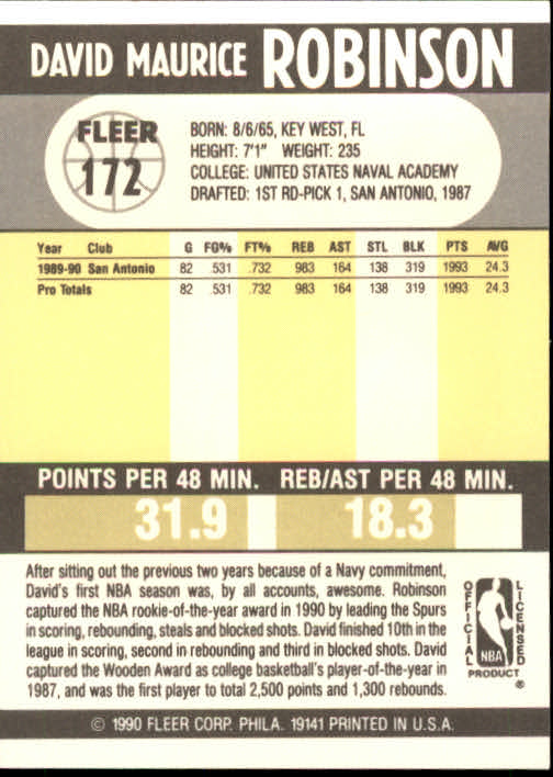 1990-91-Fleer-Basketball-Card-Pick thumbnail 349