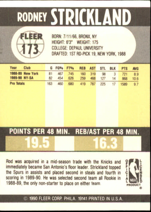 1990-91-Fleer-Basketball-Card-Pick thumbnail 351