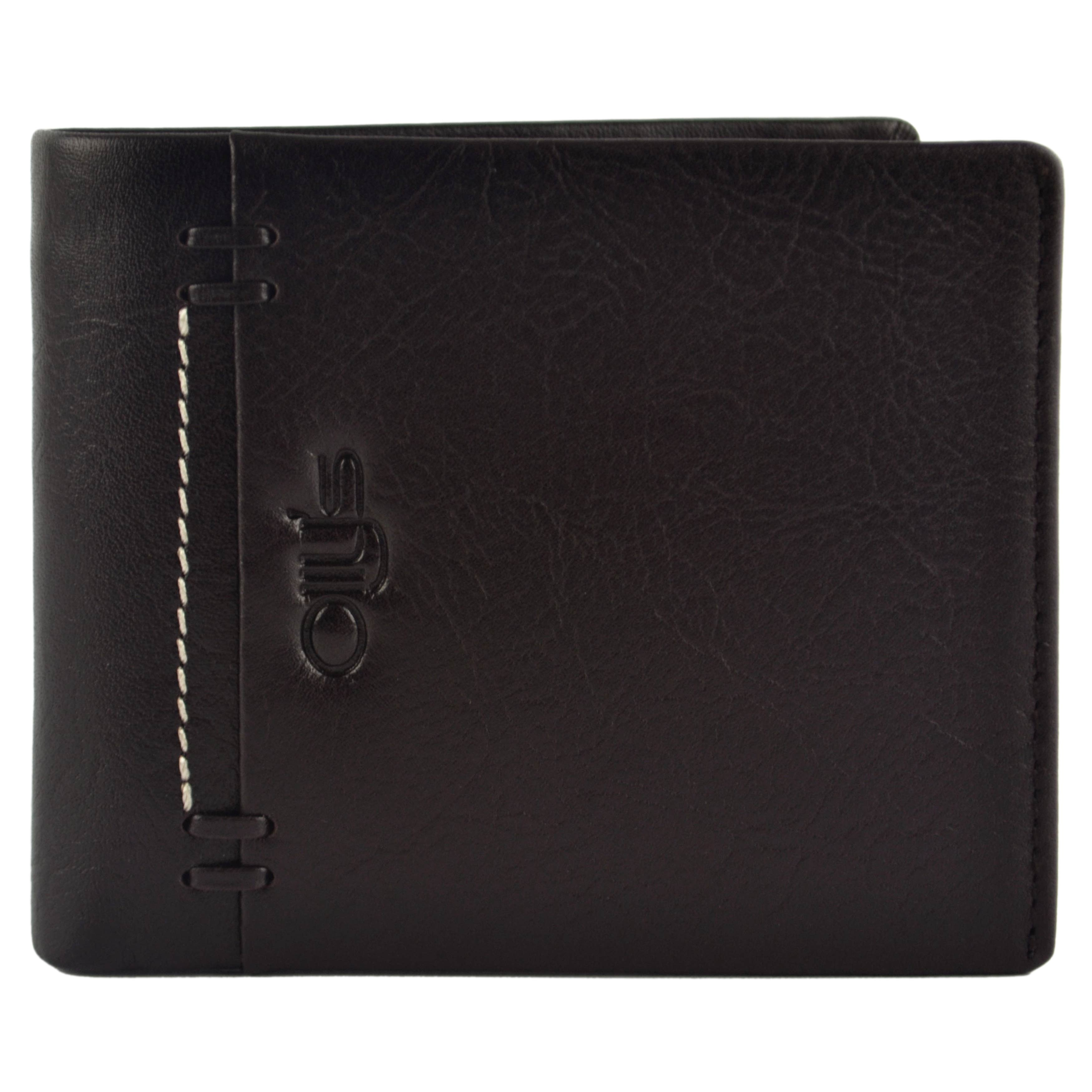 thumbnail 7 - Mens-Fine-Grain-Classic-LEATHER-Wallet-by-OLLY-039-s-Banks-Collection-Gift-Boxed