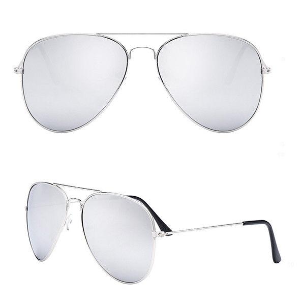 Unisexe-Femmes-Hommes-Mode-Aviateur-Verres-Miroirs
