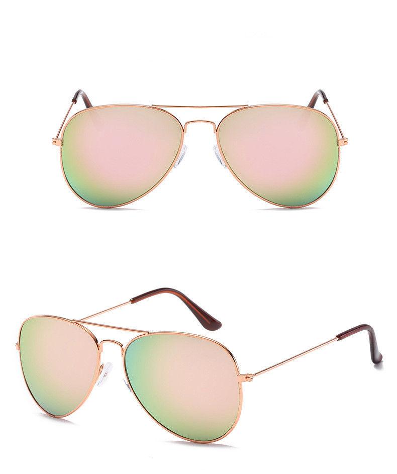 unisex damen herren mode aviator spiegel linse sonnenbrille retro retro brillen ebay. Black Bedroom Furniture Sets. Home Design Ideas