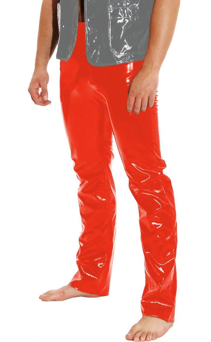 LEDAPOL gay - brillant homme gay LEDAPOL VERNIS Pantalon en jeans style en divers couleurs 4262f7