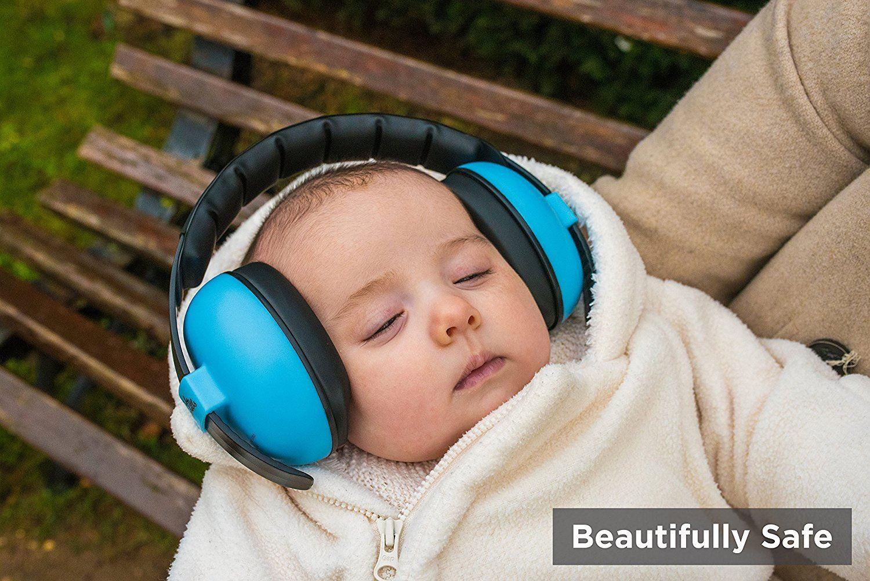 Enfants Bébé Oreille Défenseurs Newborn réduction de bruit Protecteurs pliant Manchons Toddler