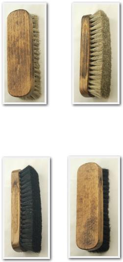 TZ-PREMIUM-Crin-De-Caballo-Zapato-PULIDO-pulido-cepillos-para-Botas-amp-Zapatos