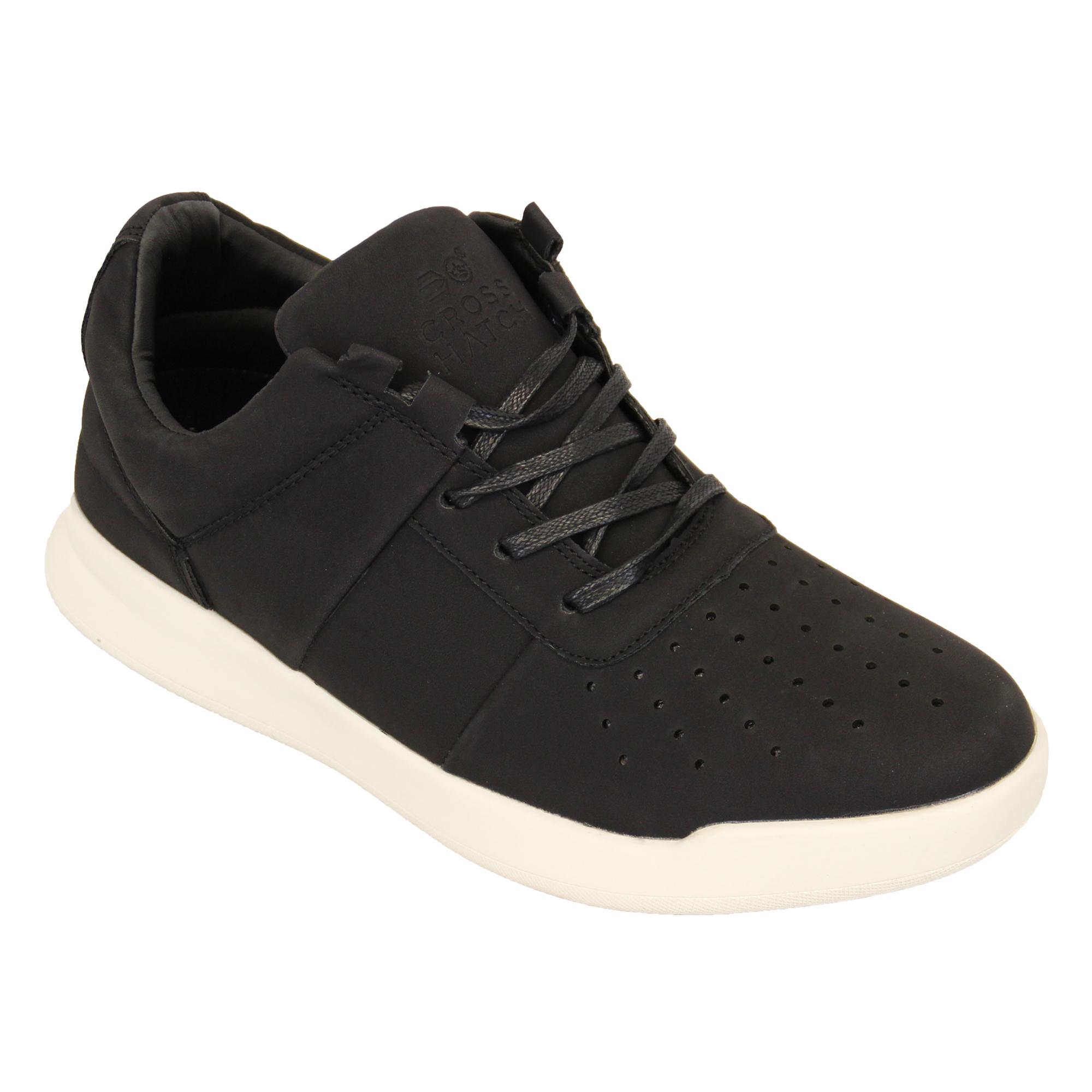 Orden Libre Del Envío Venta De Bajo Precio Sneakers casual nere con stringhe per uomo Crosshatch Venta Manchester Gran Venta bsMsbh4VOs