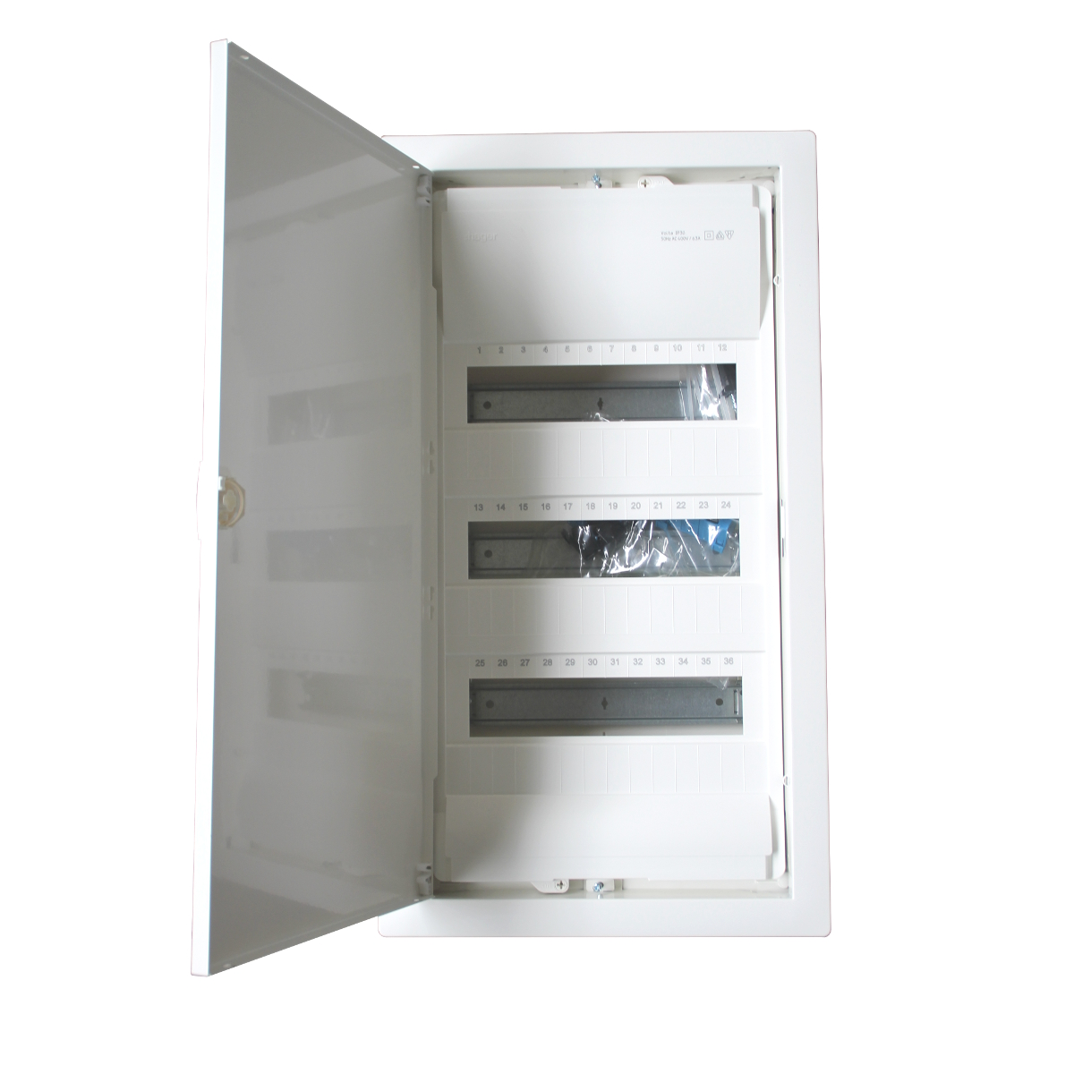 Hager Fuse Box Australia : Hager distribution box fuse to flush mounted in wall