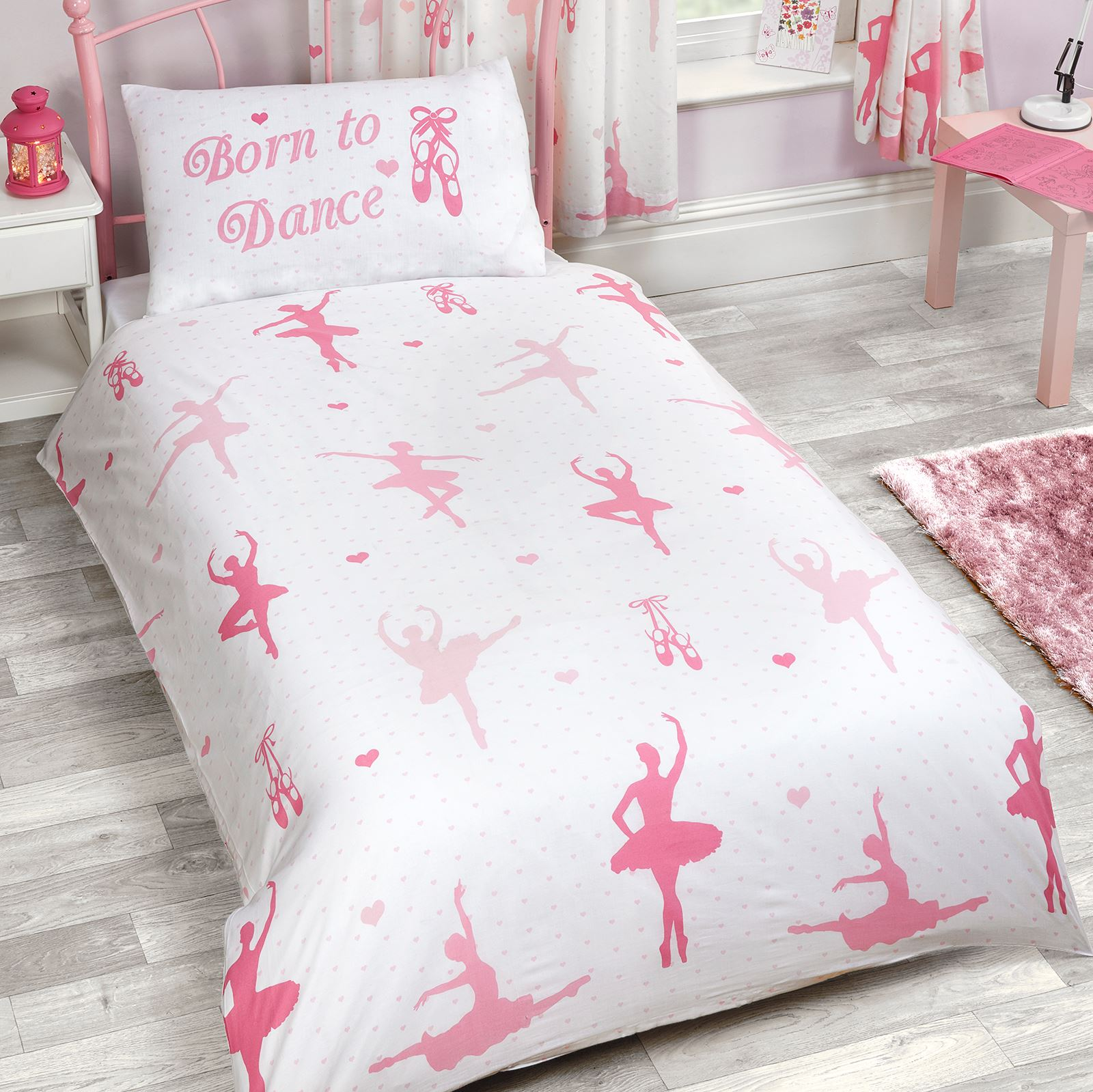 bed double linnlive birds covers bedding duvet images girls com unicorn single junior itm ballerina