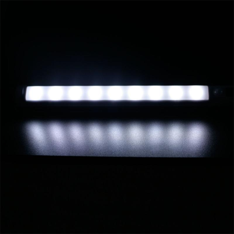 Details about LED under cabinet light With Motion Sensor, Battery mode ...