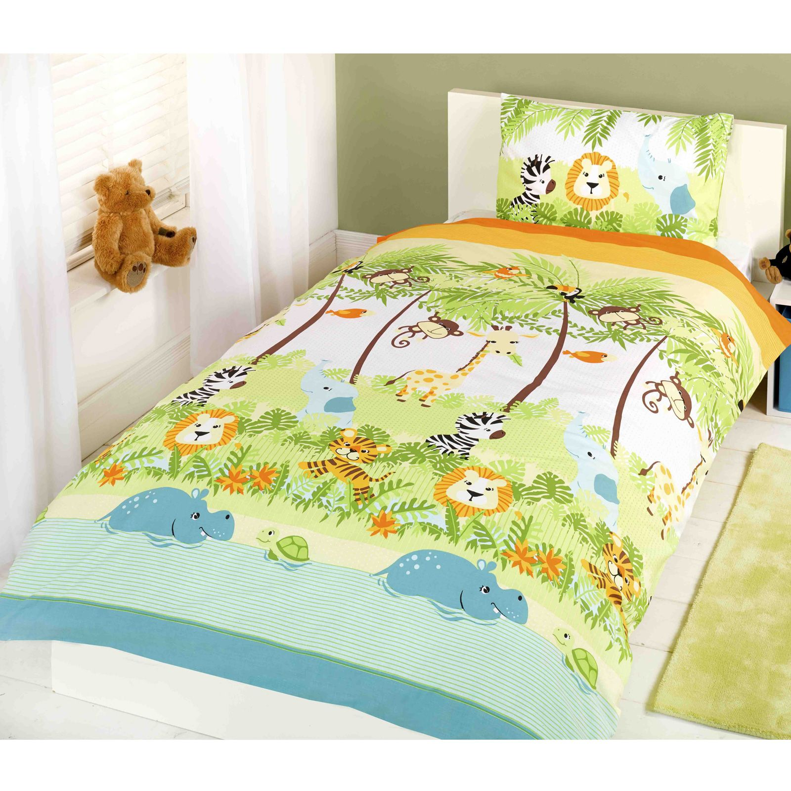 Personaggio disney lettino per bambini copripiumini for Housse de couette junior