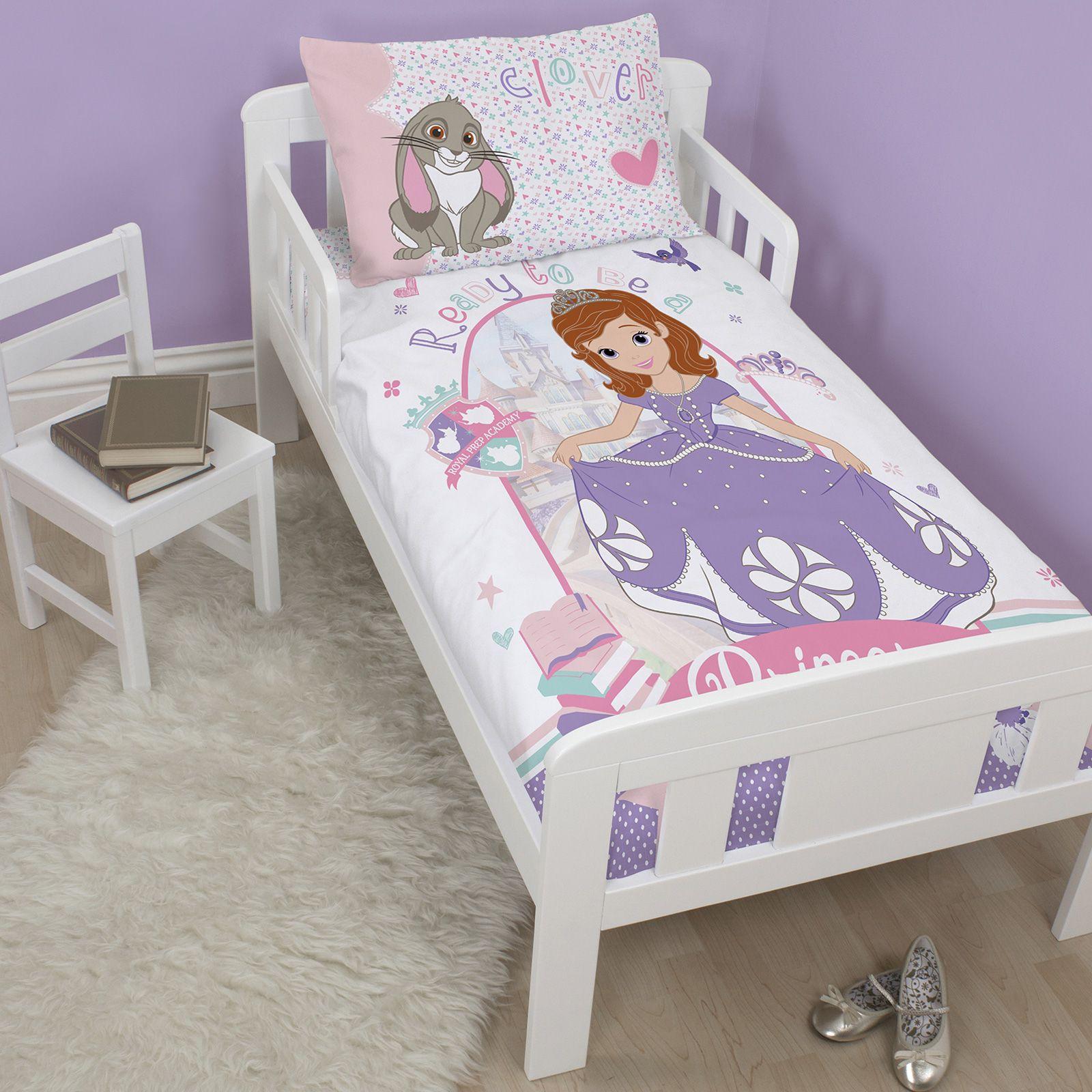 personnage disney lit b b junior housse couette literie. Black Bedroom Furniture Sets. Home Design Ideas