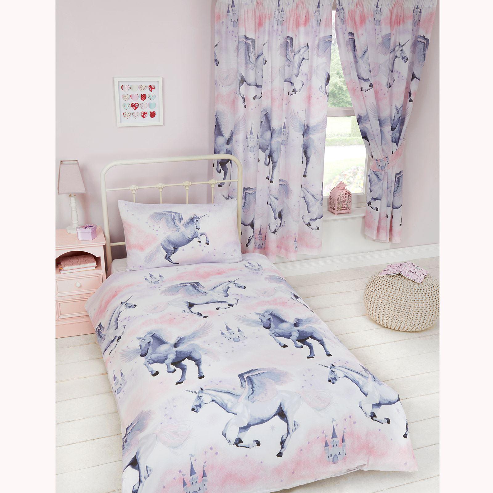 b b enfant junior housse de couette ensembles lit licorne dinosaures solaire ebay. Black Bedroom Furniture Sets. Home Design Ideas