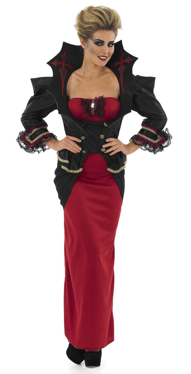 mujer-vampiro-Reina-Halloween-Mujer-Vampira-Disfraz-Talla-8-30