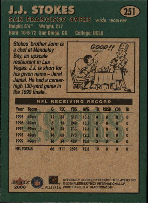 thumbnail 3 - A7983- 2000 Fleer Tradition FB #s 251-400 +Inserts -You Pick- 10+ FREE US SHIP