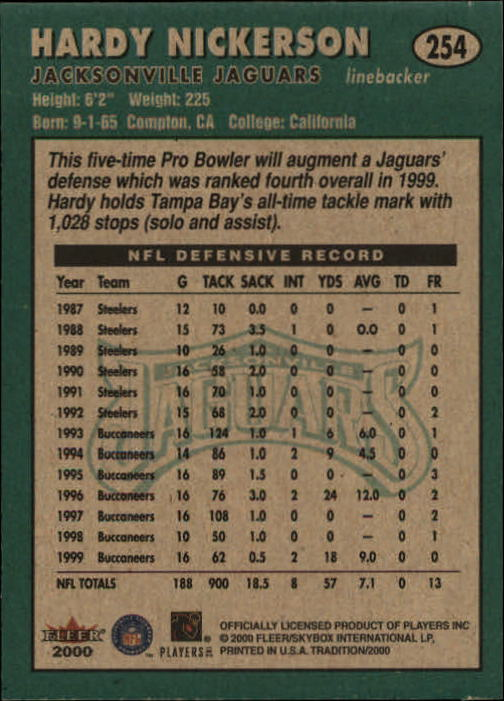 thumbnail 9 - A7983- 2000 Fleer Tradition FB #s 251-400 +Inserts -You Pick- 10+ FREE US SHIP