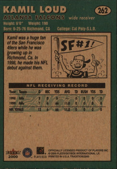 thumbnail 23 - A7983- 2000 Fleer Tradition FB #s 251-400 +Inserts -You Pick- 10+ FREE US SHIP