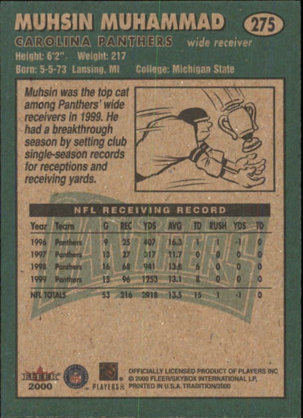 thumbnail 41 - A7983- 2000 Fleer Tradition FB #s 251-400 +Inserts -You Pick- 10+ FREE US SHIP