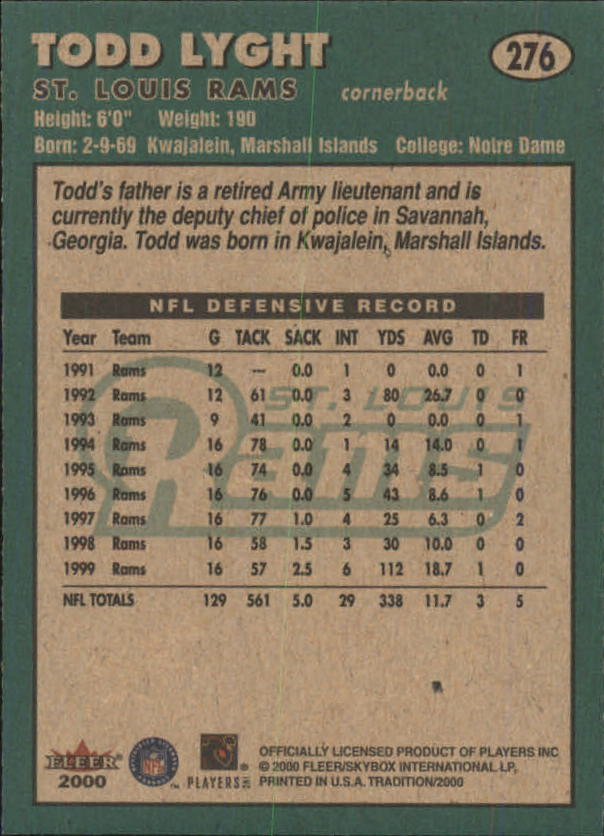 thumbnail 43 - A7983- 2000 Fleer Tradition FB #s 251-400 +Inserts -You Pick- 10+ FREE US SHIP