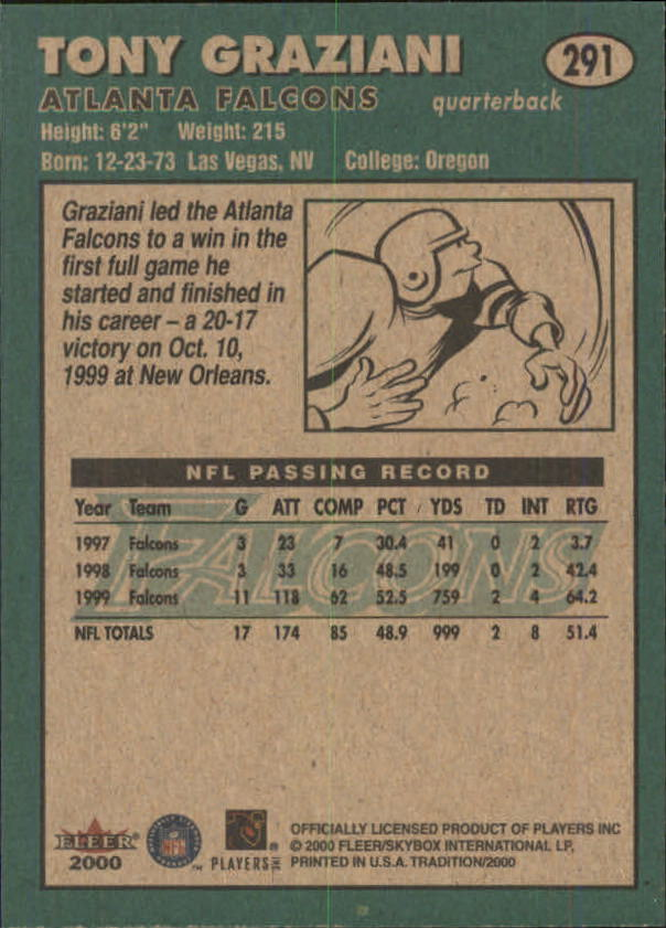 thumbnail 69 - A7983- 2000 Fleer Tradition FB #s 251-400 +Inserts -You Pick- 10+ FREE US SHIP