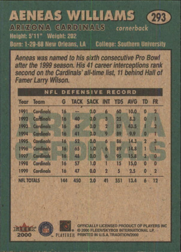 thumbnail 73 - A7983- 2000 Fleer Tradition FB #s 251-400 +Inserts -You Pick- 10+ FREE US SHIP