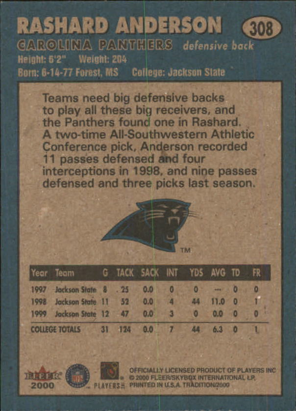 thumbnail 103 - A7983- 2000 Fleer Tradition FB #s 251-400 +Inserts -You Pick- 10+ FREE US SHIP