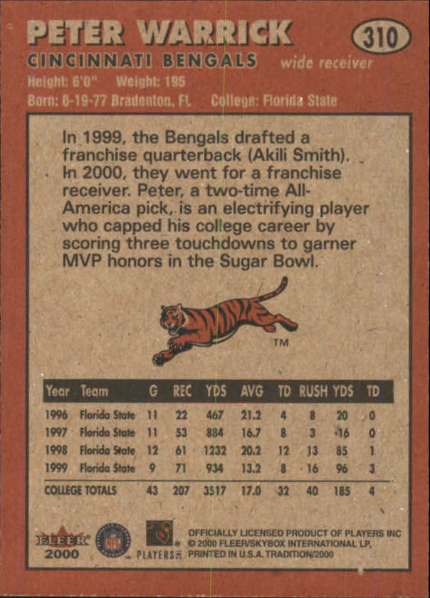 thumbnail 105 - A7983- 2000 Fleer Tradition FB #s 251-400 +Inserts -You Pick- 10+ FREE US SHIP
