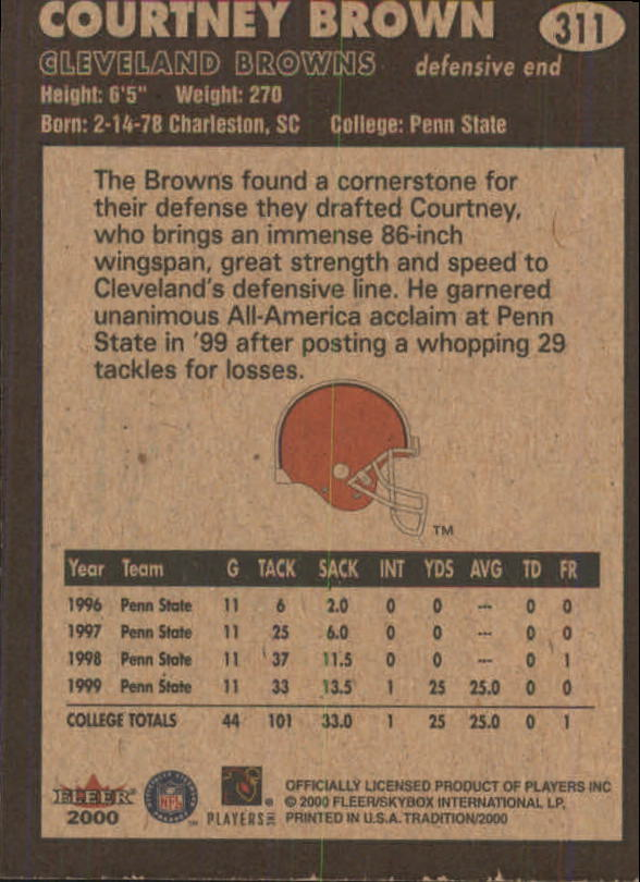 thumbnail 107 - A7983- 2000 Fleer Tradition FB #s 251-400 +Inserts -You Pick- 10+ FREE US SHIP
