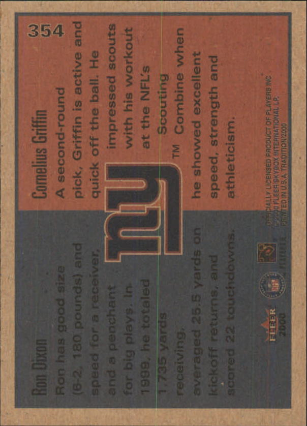 thumbnail 175 - A7983- 2000 Fleer Tradition FB #s 251-400 +Inserts -You Pick- 10+ FREE US SHIP