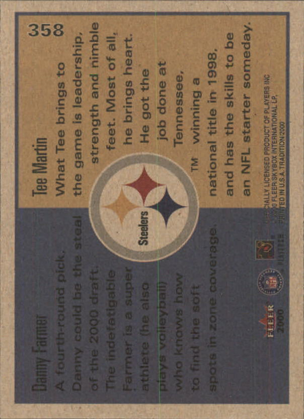 thumbnail 181 - A7983- 2000 Fleer Tradition FB #s 251-400 +Inserts -You Pick- 10+ FREE US SHIP