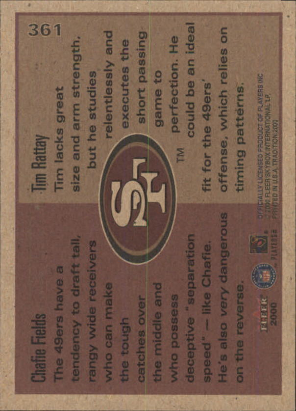 thumbnail 187 - A7983- 2000 Fleer Tradition FB #s 251-400 +Inserts -You Pick- 10+ FREE US SHIP