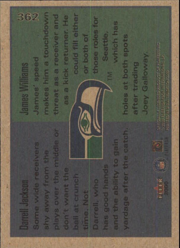 thumbnail 189 - A7983- 2000 Fleer Tradition FB #s 251-400 +Inserts -You Pick- 10+ FREE US SHIP