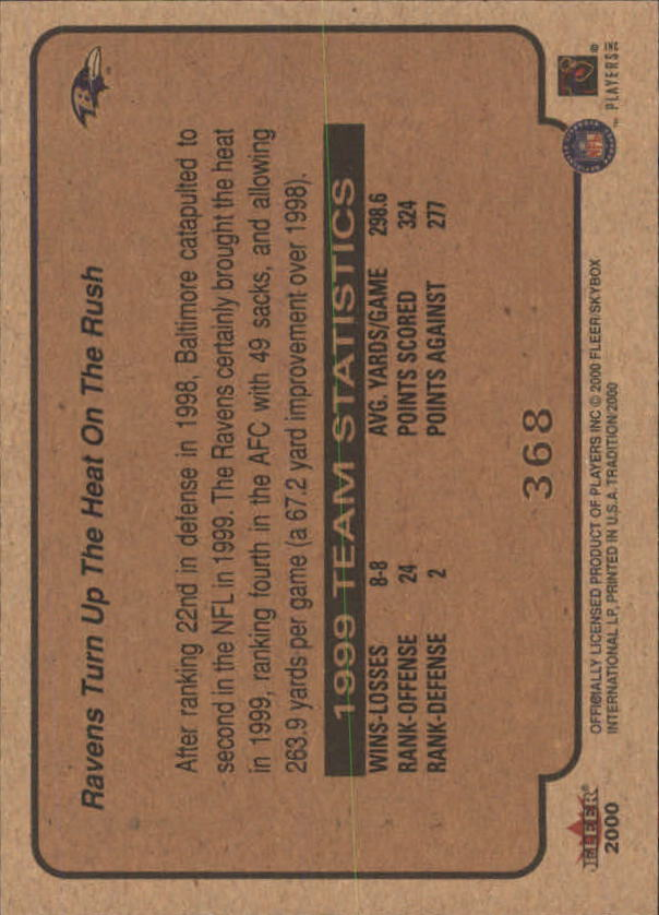 thumbnail 199 - A7983- 2000 Fleer Tradition FB #s 251-400 +Inserts -You Pick- 10+ FREE US SHIP