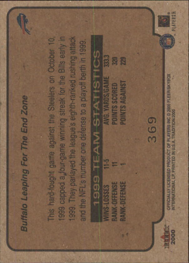 thumbnail 201 - A7983- 2000 Fleer Tradition FB #s 251-400 +Inserts -You Pick- 10+ FREE US SHIP